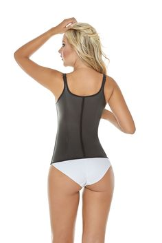 f1e82df04a Shapewear Women Slim Latex Shaper Thermal Vest Body Shaper Faja 4XLBlack      Read more reviews of the product by visiting the link on the image.