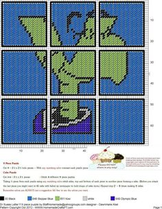 Dr. Seuss Letter Y  9 Piece Puzzle