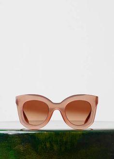 98602bb7d410 Marta Sunglasses in Acetate - Fall   Winter Runway 2015