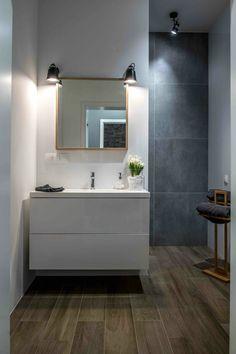 Nordic gray modern home interior design 33