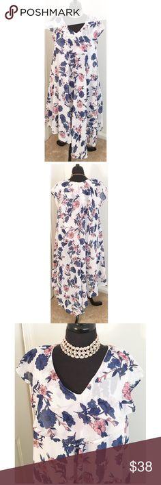 ✨HOST PICK 🎉🎉🎉 STUNNING PLUS SIZE DRESS NWT✨ Free size, one size fits 1X 2X 3X. Lined Dresses