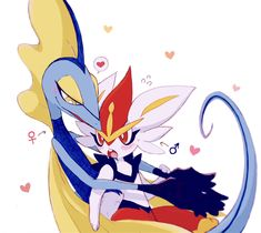 Pokemon Ships, Pokemon Fan, Cute Pokemon, Pokemon Stuff, Pokemon Stories, Cute Characters, Disney Characters, Cute Romance, Lugia