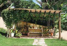 Gazebo econômico - Paisagismo - Plantas, Flores e Jardins
