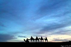 Una notte nel deserto del Marocco