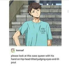 Oikawa: The Ultimate Sass Queen
