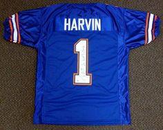 Percy Harvin Autographed Florida Jersey 2x Nat l Champ PSA DNA .  149.00. d1145377d