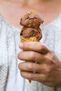 Recipe: Mexican Chocolate and Almond Ice Cream — Dessert Recipes from The Kitchn