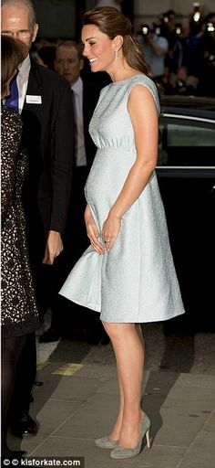 Kate at the National Portrait Gallery on 4/24/2013