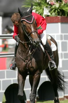 Best photo of Eric and Hickstead. Love the expression.