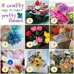 8 Spring Flower Crafts