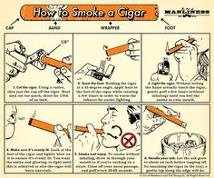 Many a man will occasionally smoke a cigar, but not many know how to prepare, light, and smoke it in such a way that gets the best flavor from the tobacco. Cigar Humidor, Cigar Bar, Cigar Ashtray, Cigar Boxes, Good Cigars, Cigars And Whiskey, Zigarren Lounges, Cigar Lighters, Art Of Manliness