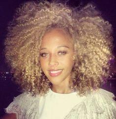 Blonde Ambition | natural hair | #naturalhair | #teamnatural coilskinkscurls.com -- CoilsKinksCurls, LLC -- Angela Easterling