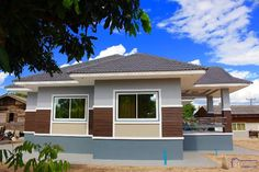 Elegant One Storey House Design - House And Decors My House Plans, Craftsman House Plans, Modern Bungalow House Design, One Storey House, House Design Pictures, Architectural House Plans, Storey Homes, Plan Design, New Homes