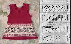 Клуб ЛОПАПЕЙСА's photos Knitting Machine Patterns, Fair Isle Knitting Patterns, Fair Isle Pattern, Knitting Charts, Knitting Designs, Knitting Stitches, Knit Patterns, Knitting For Kids, Crochet For Kids