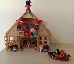 Juf Berdien Sint huis Sinterklaas Zwarte Piet huis