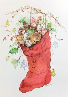Alenquerensis: Mary Hamilton, a artista/pintora de postais da Hallmark - Mary Hamilton the artist/ painter of Hallmark postcards