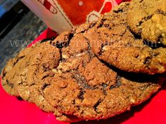 Mint Chocolate Cookies | Girl Gone Healthy http://girlgonehealthy.com/mint-chocolate-cookies/ #Chocolate #Baking #Cookies #Christmas
