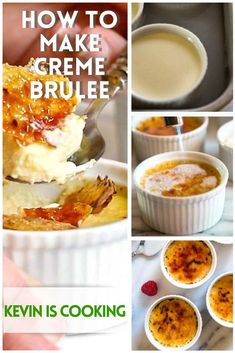 I thought I'd share How to Make Creme Brulee. It's not a flan or a pudding, it's a rich custard topped with a hard caramel. The fun part in reaching that thick vanilla custard is breaking through that hard caramel topping! Tart Recipes, Candy Recipes, Cheesecake Recipes, Dessert Recipes, Dessert Ideas, Diabetic Desserts, Diabetic Recipes, Easy Desserts, Delicious Desserts