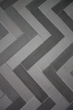 Cement Tile in Chevron Pattern by Presidio Tile Basement Laundry, Cement, Tile Floor, Chevron, Living Spaces, Bath, Flooring, Garden, Kitchen