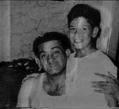 Gambino soldier Ralph Eppolito aka Fat The Gangster (1916-1968) and son Louis. Ralph had two more brothers in the Gambino family, James and Alfred, the first a soldier, the second a captain.