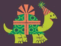 Turtle Present By Lydia Nichols.