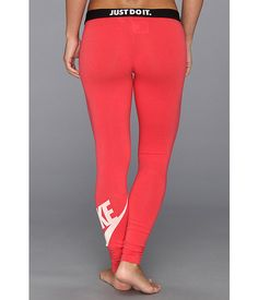 Nike Leg-A-See Logo Legging Fusion Red Nike Workout, Workout Gear, Workouts, Nike Leggings, Athletic Fashion, Sport Wear, Just Do It, Active Wear, Pajama Pants