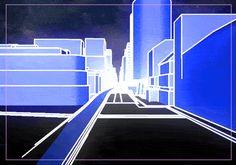 """Tron"" Meets Edouard Salier In These Retro-Futuristic GIFs | The Creators Project"