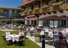 Kastanienterrasse des Hotels Spa, Wellness, Pergola, Hotels, Outdoor Structures, Time Out, Vacation, Nature, Pictures
