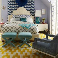 Elegant Bedroom by Jonathan Adler | #jonathanadler #bedroomideas #bedroomsets | See also: www.bedroomideas.eu