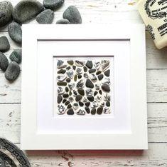 Sea Glass Beach, Sea Glass Art, Broken Bottle, Seashell Art, Coastal Art, Shell Crafts, Beach Art, Black Glass, Gift For Lover