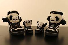 Jeremy Scott Panda & Panda Baby