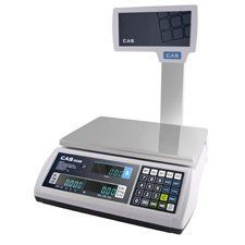 CAS S2JR60VP S2000 Jr Price Computing Scale-60 lb Capacity w/ VFD-Pole Mounted by CAS Scales. $291.85