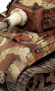 Tiger Ii, Modeling Techniques, Model Tanks, Military Modelling, Ww2 Tanks, Panzer, Art Model, Painting Tips, Scale Models