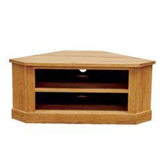 Larsen Oiled Oak - Low Corner TV Unit