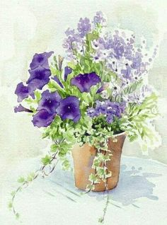 beautiful watercolor | Still life | Pinterest | Watercolor, Flowers and Paintings