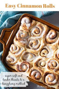 Best Breakfast Recipes, Best Dessert Recipes, Vegan Desserts, Brunch Recipes, Fun Desserts, Delicious Desserts, Breakfast Ideas, Cinnamon Rolls, Cinnamon Roll Dough