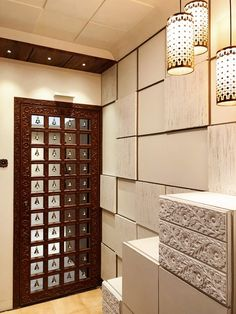 A Gorgeous Dwelling Embellished in Conventional Kutch Artwork - Interior & Furniture - Door Design