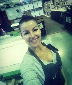 Saturday night late shift! Shayle Flesser www.a1frames.com.au