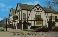 Zum Deutschen Eck German Restaurant, Chicago, IL. (German-American)