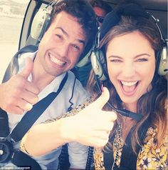 Kelly Brook celebrates boyfriend Jeremy Parisi's in St Tropez Man And Wife, Kelly Brook, Boyfriend Girlfriend, Hawaii Travel, Face Claims, Girlfriends, Actresses, Poses, Celebrities