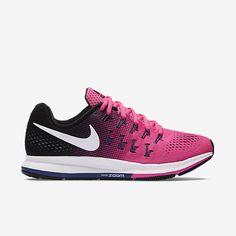 Nike Air Zoom Pegasus 33 Womens Running Shoes 7.5 Pink Blast Purple 831356  600 577f332b8f