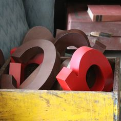 Tin Letters- can be rented from Stylish Patina