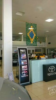 Origamis para copa do Brasil - Bandeira de Tsurus e Kusudama Strong Package - Tomoko Fuse