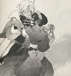 The Case Study of Vanitas | Memoir of Vanitas | Vanitas no Carte | Scenes from the manga, chapter 7 | Noe and his fiancee Dominique