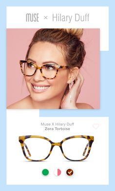 Blue light glasses not only look cute AF, they help soothe tired eyes Cute Glasses, New Glasses, Glasses Online, Glasses Style, Hilary Duff, Cat Eye Sunglasses, Sunglasses Women, Cat Eye Colors, Hijab Style
