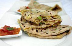 Recette de pains indiens Gobhi Parantha