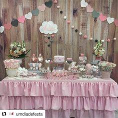 """190 Beğenme, 4 Yorum - Instagram'da Festa Linda (@festalindainfantil): """"#Repost @umdiadefesta (@get_repost) ・・・ Chuva de amor!  . . . Por @ruthgotz - . #babyshower…"""""""