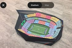 In the USA Stubhub offers augmented reality to help choose stadium seats