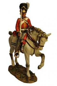 Сержант 2-го Королевского Северо-Британского драгунского полка (Шотландские серые) Чарльз Юарт. Del Prado Cavalry Cavalry №17