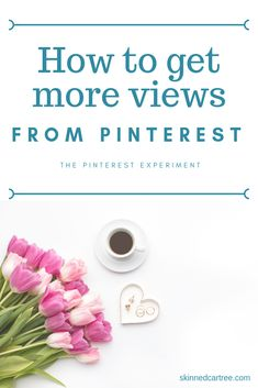 How to get more views from #Pinterest using this experiment where I try new tactics to help up my Pinterest game #skinnedcartree #SocialMedia #Bloggers #PinterestMarketing #BlogTips Social Media Tips, Social Media Marketing, Marketing Strategies, Digital Marketing, Marketing Ideas, Business Marketing, Content Marketing, Online Marketing, How To Start A Blog